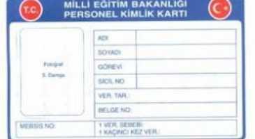 öğretmen kimlik kartı başvuru dilekçesi
