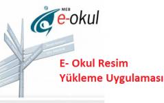 e-okul resim yükleme programı