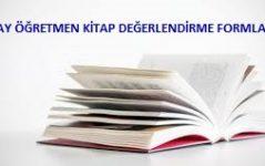 aday öğretmen kitap formları
