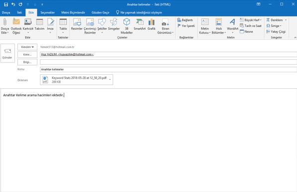 meb mail yapılandırma