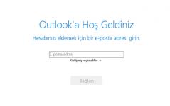 microsoft outlook mail yapılandırması
